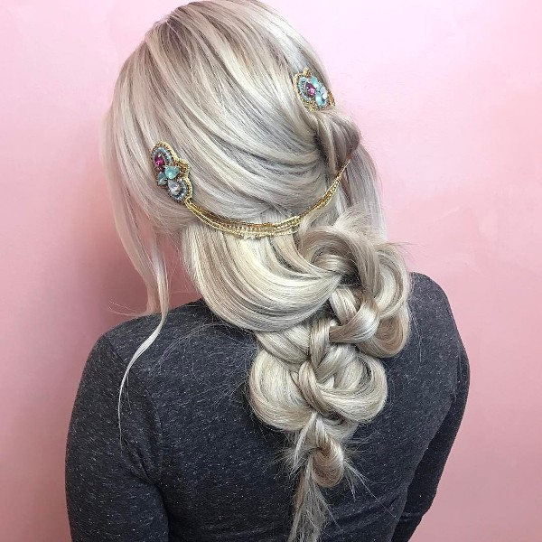 Voluminous Boho Braid