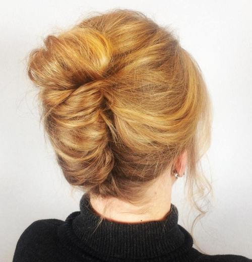 Strawberry Blonde French Roll