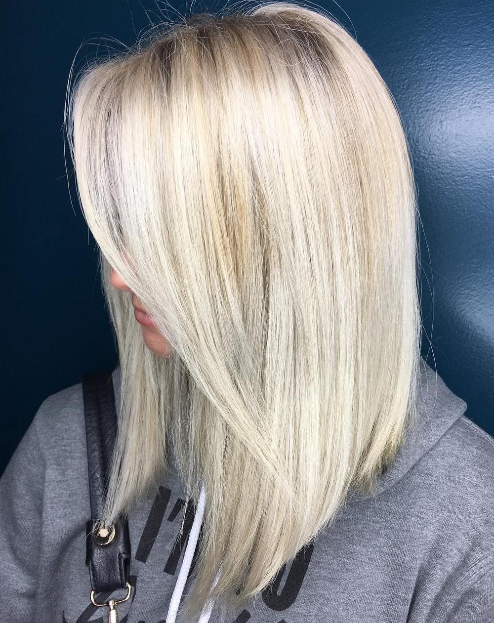 Hairstyles for medium length straight blonde hair