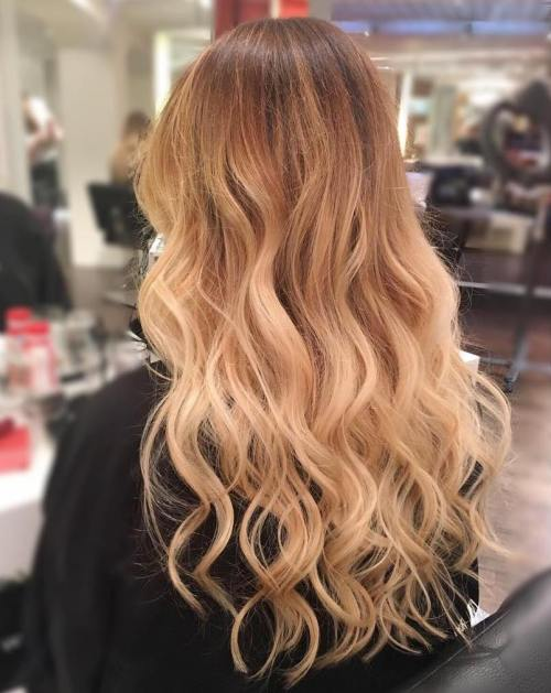 Long Ombre Hair With Extensions