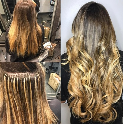 Invisible Effect Of Hair Extensions