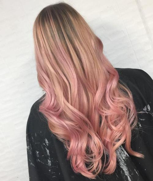 Pretty In Pink Soft Waves