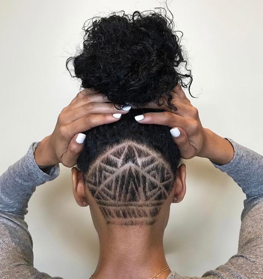 Shaved haircut designs