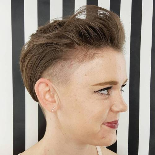 Undercut Pixie For Fine Hair