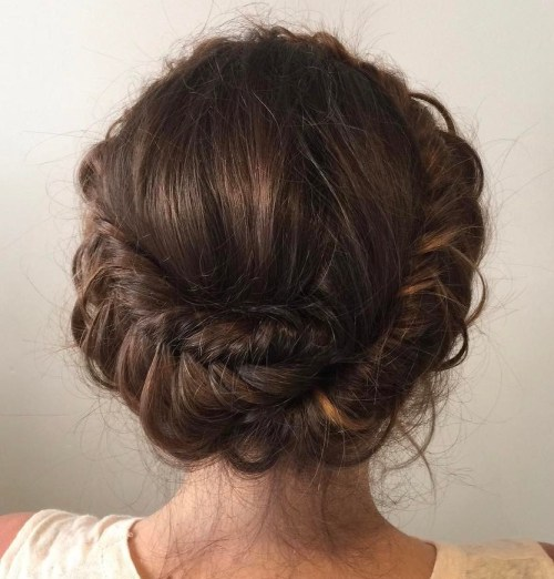 Boho Fishtail Headband Braid Updo