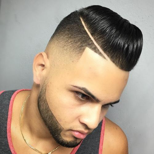 sharp fade haircut