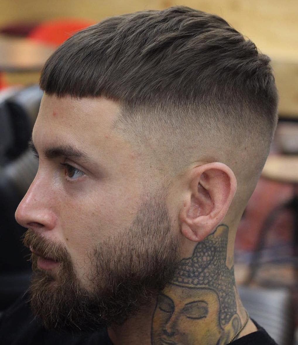 High And Tight Cut With Textured Top