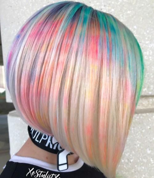 technique marbre essayer derniere cheveux