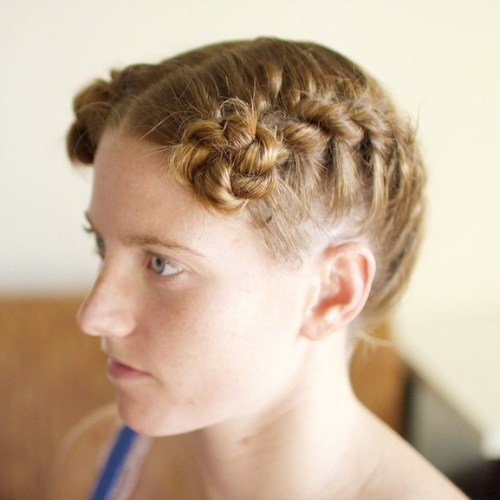 Arya Rope Braid Buns