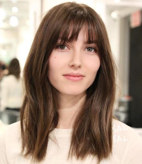 20 Wispy Bangs To Completely Revamp Any Hairstyle