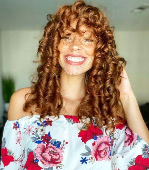 Curlformers Result on Naturally Wavy Hair