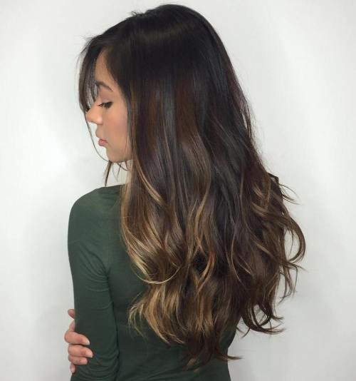 Subtle Brown And Blonde Balayage