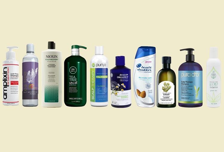 shampoo for dry flaky scalp