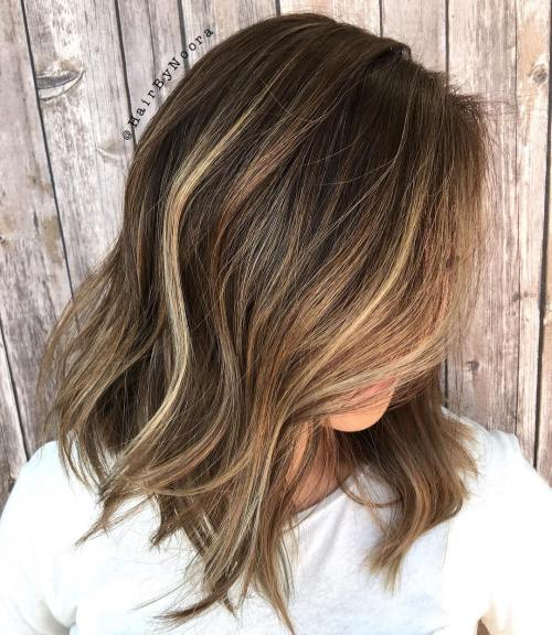 4 Blonde Blond Straight Hair Sweep Blonde Balayage: 20 Must-Try Subtle Balayage Hairstyles