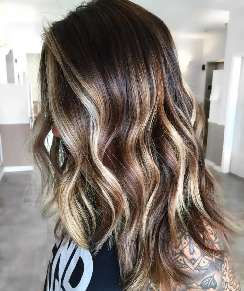 Tri-Color Balayage Hair