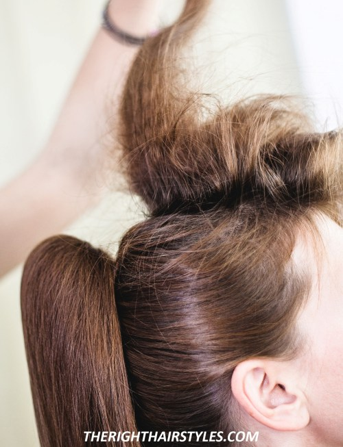 How to Do a High Ponytail: Step 5