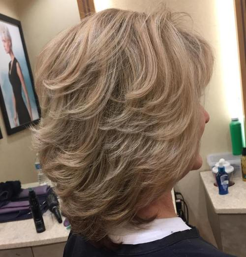 Short Layers For Blonde Hair