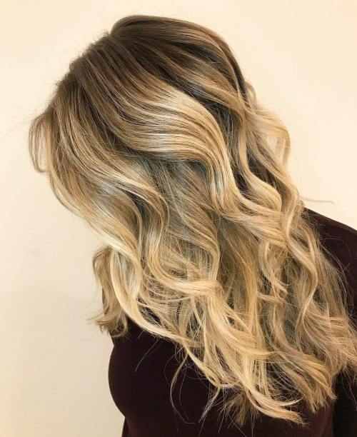 Wavy Chamomile Blonde Locs