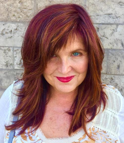 20 Flattering Medium-Length Haircuts for Women Over 50