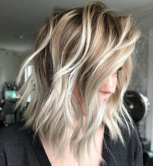 Beachy Bob With Volume