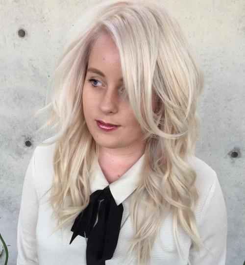 Platinum Layered Waves