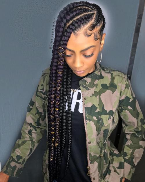 super hot cornrow braid hairstyles