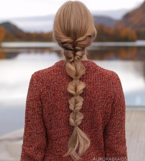 Intricate Fishtail Braid