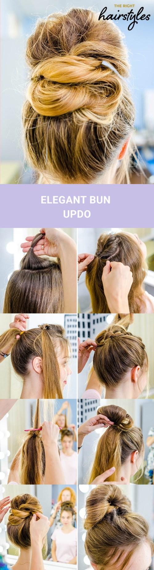 jolies coiffures cheveux