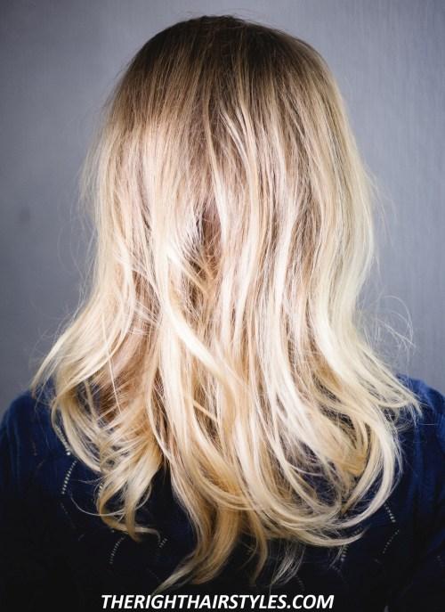 Voluminous Hairstyle: Step 1
