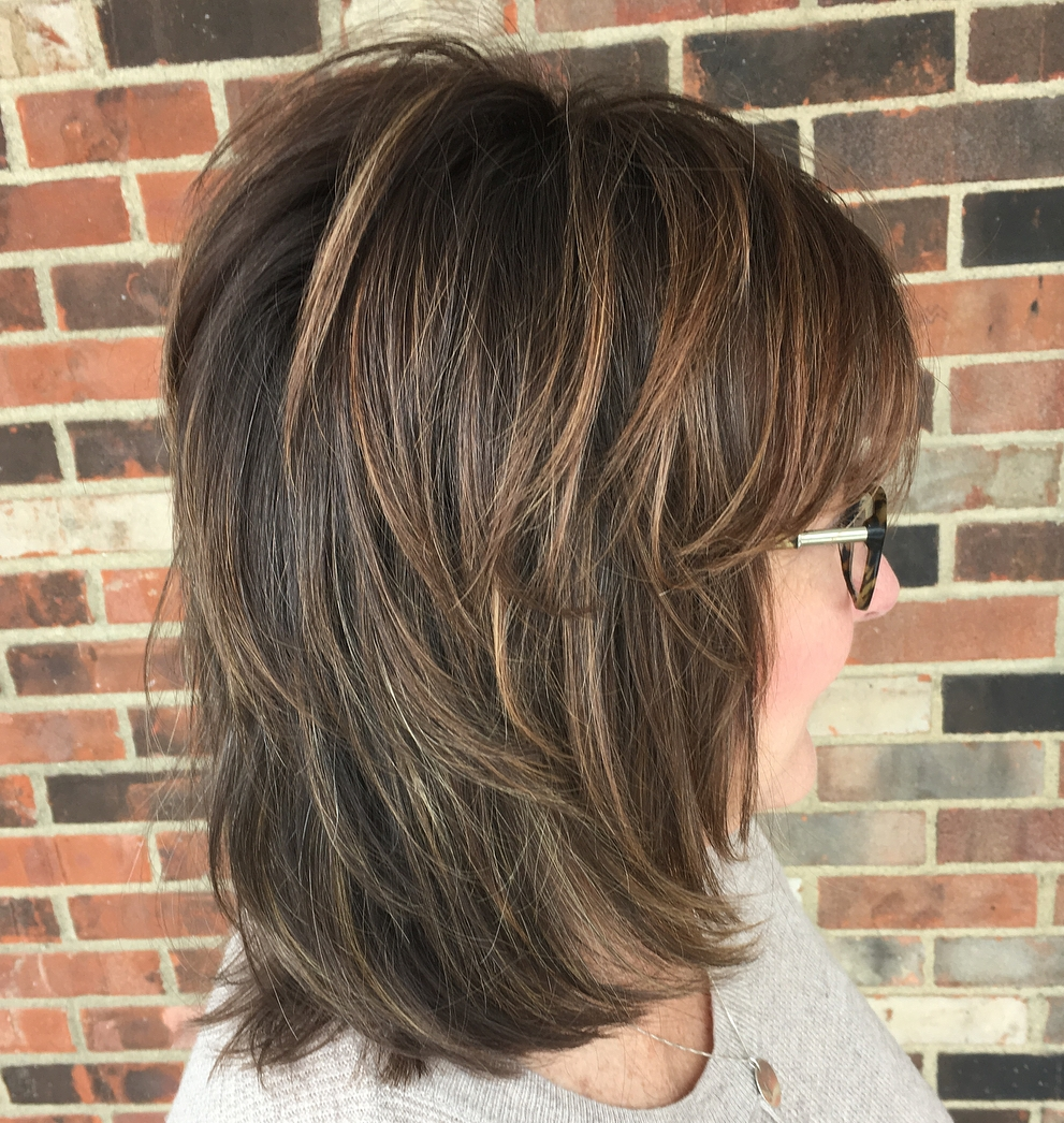 12 Shaggy Hairstyles for Women with Fine Hair over 12
