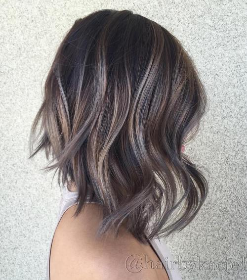 Mushroom Brown Lob With Purple Tones