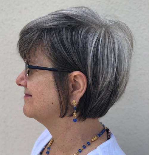Textured Bob With Feathered Layers