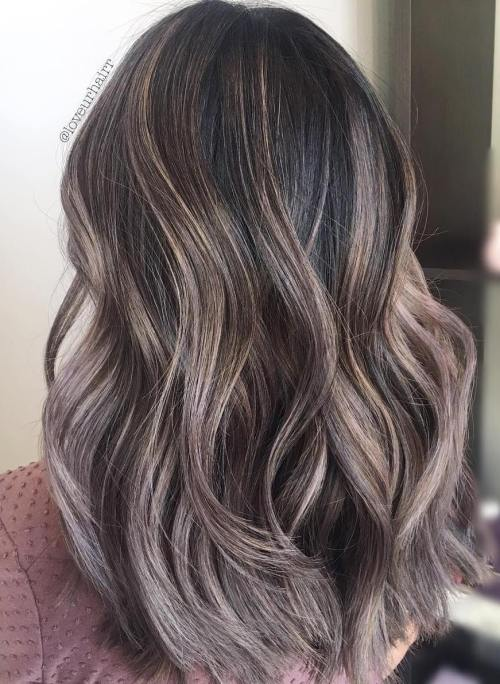 Mushroom Highlights Hair