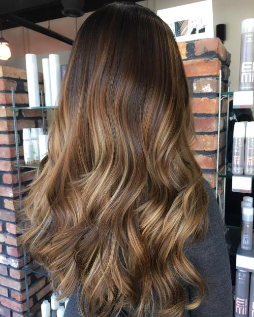Long And Layered Browns