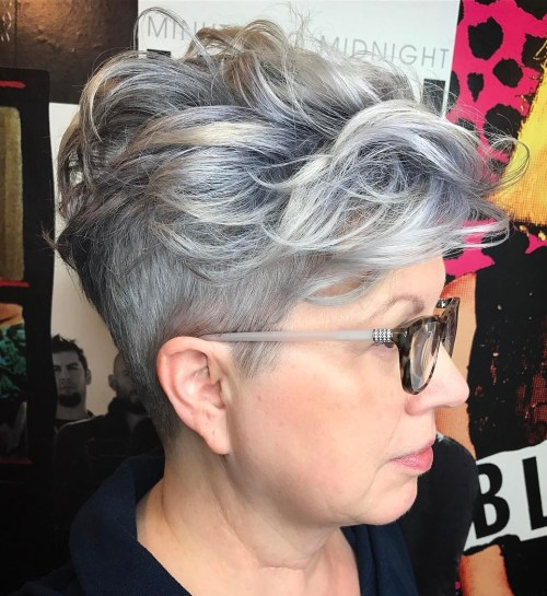 7cdf0a1107 20 Best Hairstyles for Women over 50 with Glasses