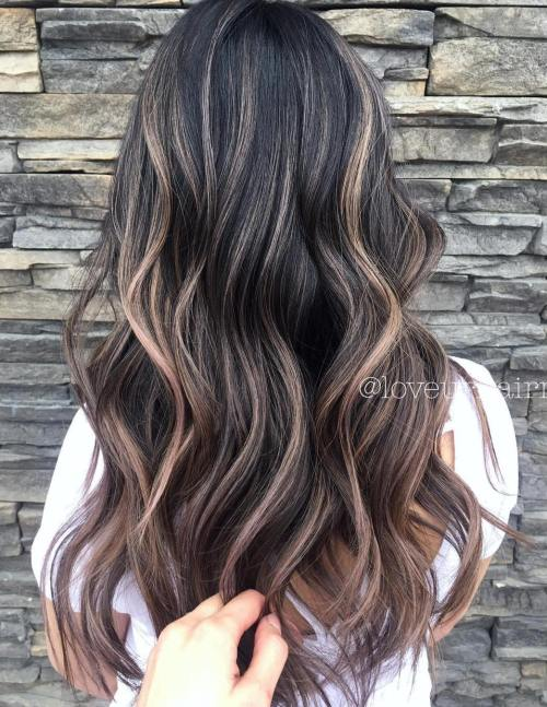Smoky Sun-Kissed Balayage