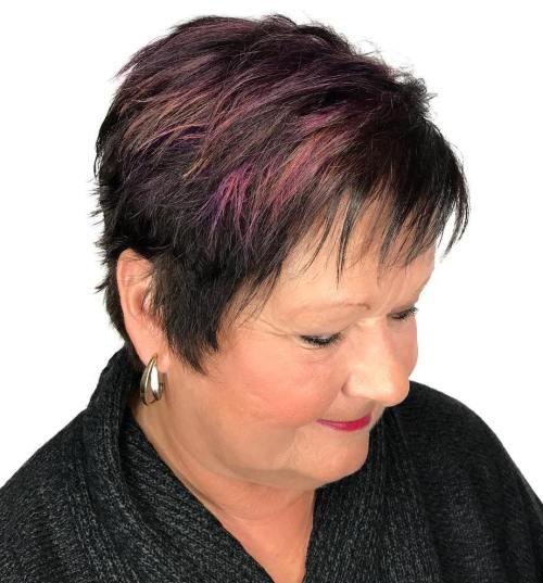 Choppy Pixie for Women over 50