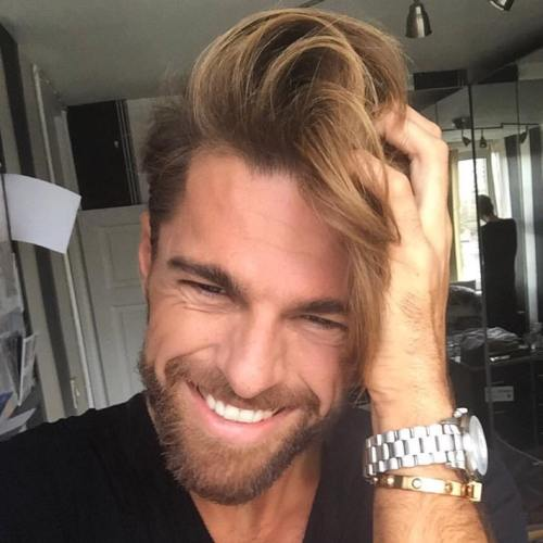 Mens Balayage Hairstyle