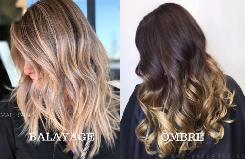 Balayage Vs Ombre Coloring