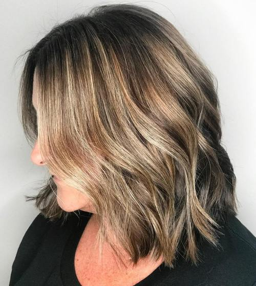 Subtle Balayage on Short Hair