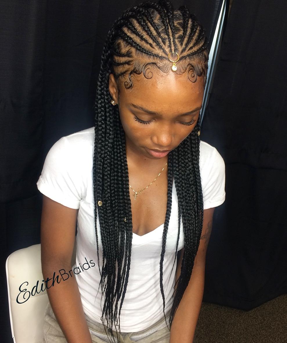 20 Trendiest Fulani Braids for 2019