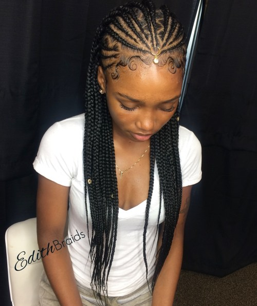 20 Trendiest Fulani Braids for 2019