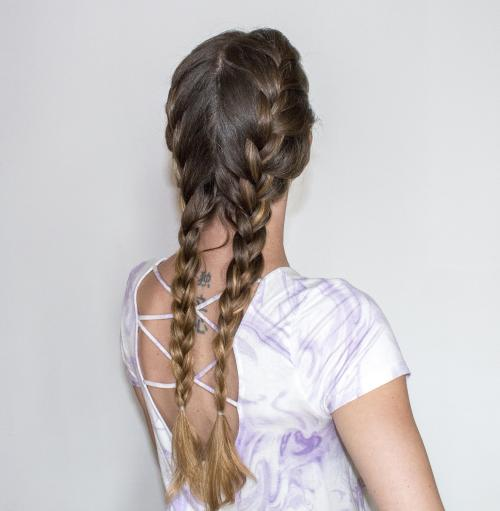 Loose Braids Hairstyles: Loose French Braid Tutorial And Creative Hairstyles