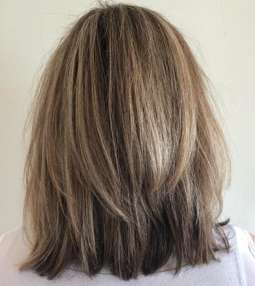 Shaggy Two-Layer Bob