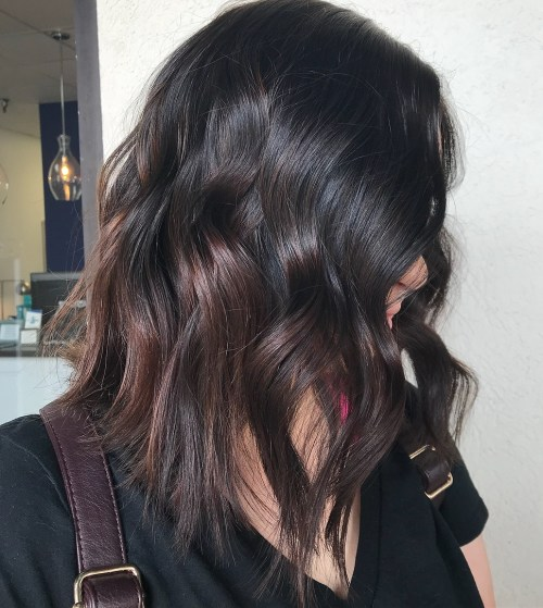 Subtle Warm Balayage