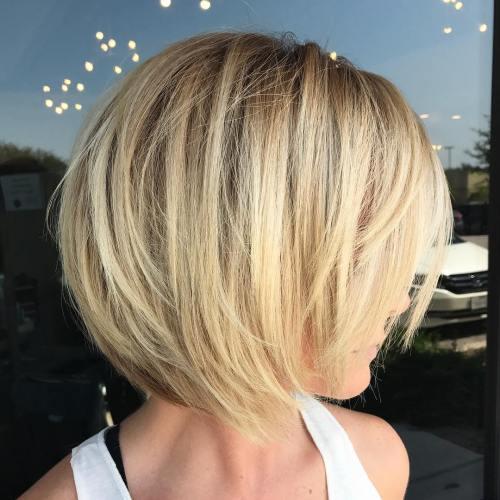 Short Blonde Balayage
