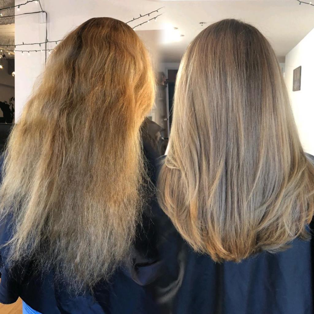 Keratin Hair Treatmnet