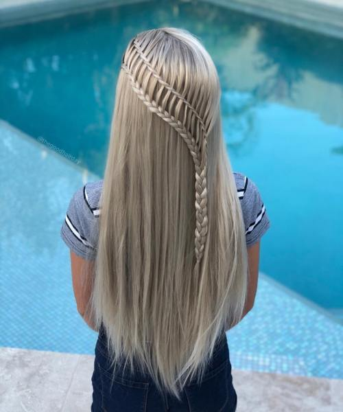 Diagonal Ladder Braids for Party
