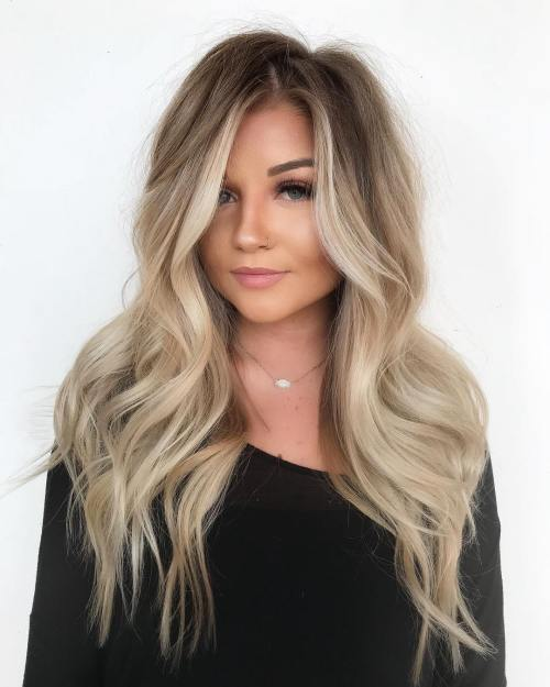 Medmaid Hair With Blonde Balayage