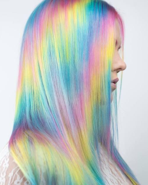 Diagonal Holographic Coloring